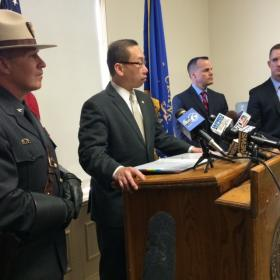 Cranston Mayor Allan Fung announced the findings of an investigation into a parking ticket blitz.