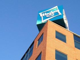 The Hasbro toy company offices in Providence.