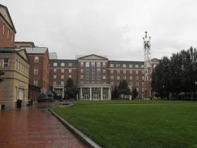 Johnson and Wales campus in downtown Providence.