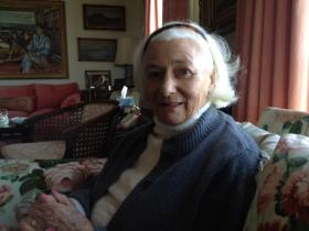 Nuala Pell in her Newport home.