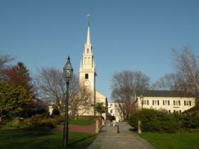 Trinity Church in Newport