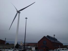 The CRMC may approve a wind turbine project in Rhode Island.