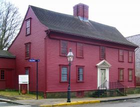 The Wanton Lyman Hazard house in Newport.