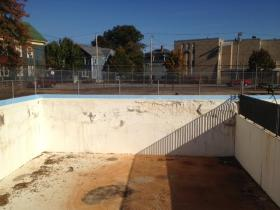 The Davey Lopes Pool in South Providence in October of 2013.