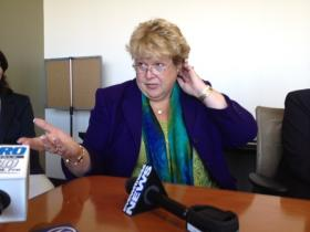 HealthSource RI director Christy Ferguson believes the state should not join the federal exchange.