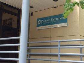 Planned Parenthood of Southern New England's clinic downtown Providence was quiet Thursday afternoon.