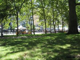 Smoking would be banned at Burnside Park in downtown Providence among others.