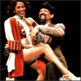"Maurice Hines in ""Guys and Dolls\"" at the Colonial Theatre in Boston through April 14, 2002."
