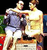 "Scene from ""Short Attention Span Classics\"" presented by 2nd Story Theatre."