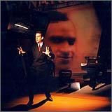 """Hershey Felder in \""""George Gershwin Alone.\"""""""