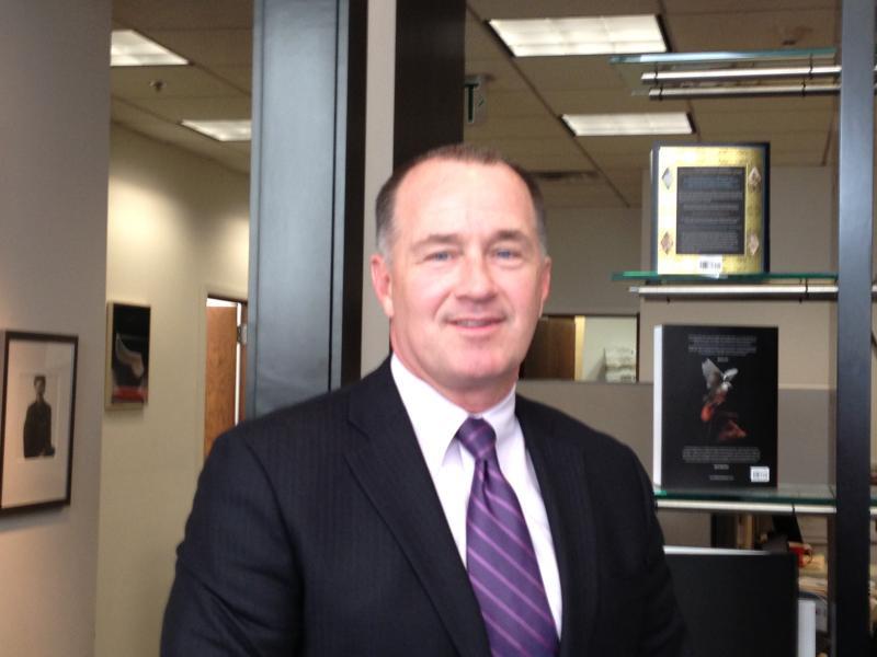 RI State Police Colonel Steven O'Donnell