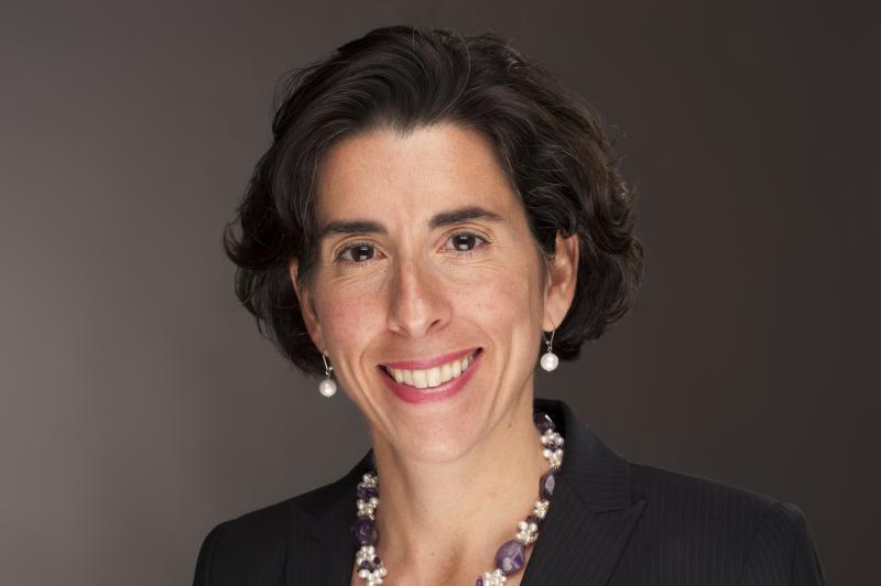 RI Treasurer Gina Raimondo