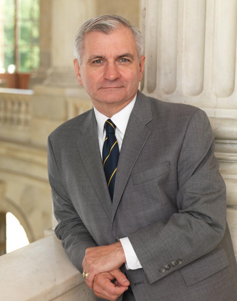 U-S Senator from Rhode Island Jack Reed