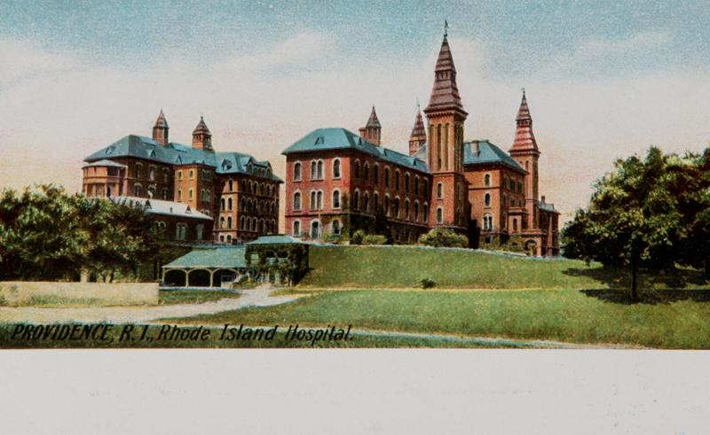 RI Hospital in earlier days