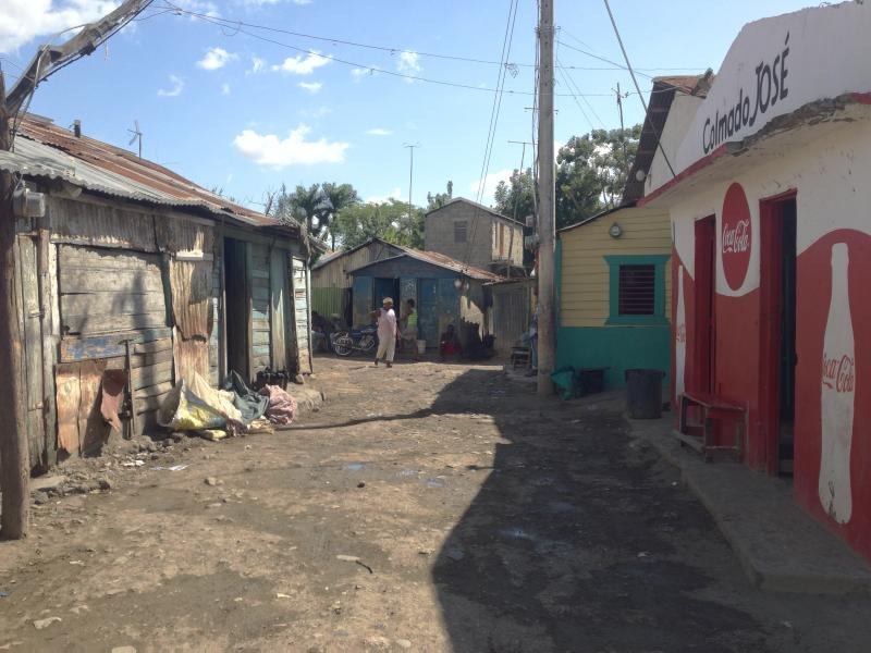 Typical pathway in The Batey
