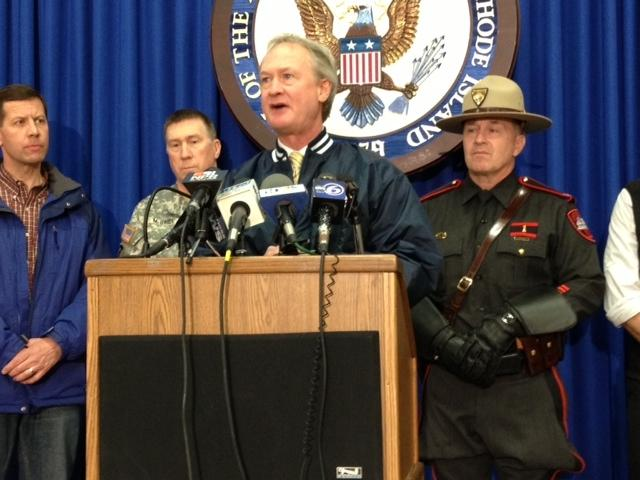 Gov Chafee urges residents to prepare