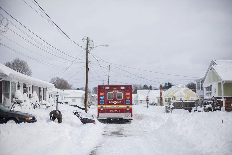 Saturday ambulance in Providence