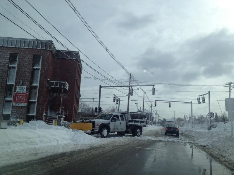 Plowing Providence Streets