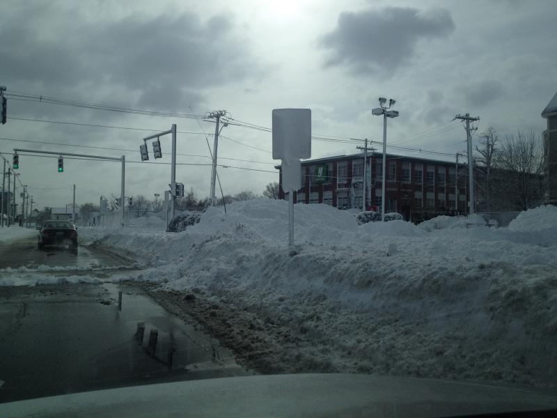 Providence Snow pile