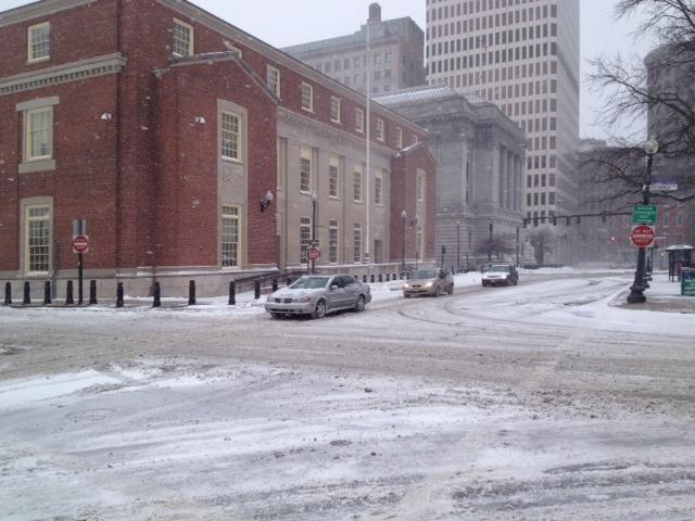 Traffic in Providence