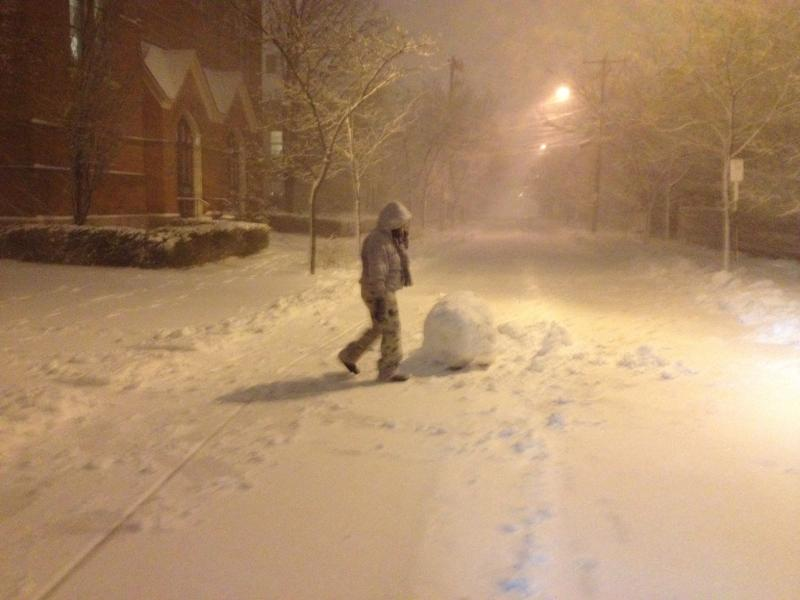 Snowball on East Street