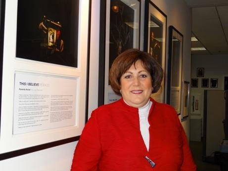 Board of Education Chair Eva-Marie Mancuso