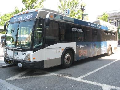 RIPTA bus