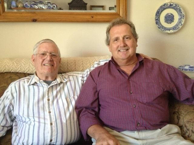 Larry Bacon and Dave Burnett have been together for 36 years and plan to get married next month