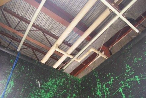 WCVY no ceiling tiles