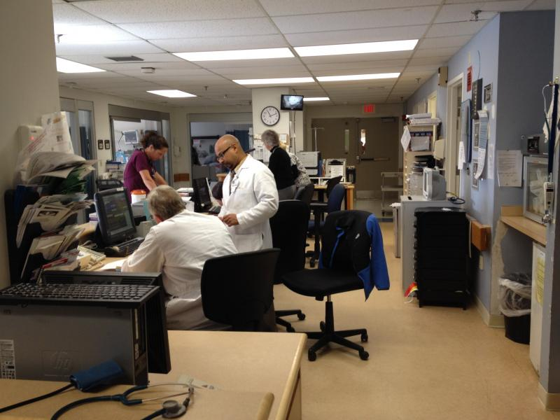 Landmark's busy ICU
