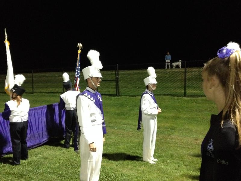 Drum Major James Costa.