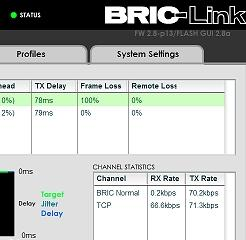 BRIC Link Web GUI
