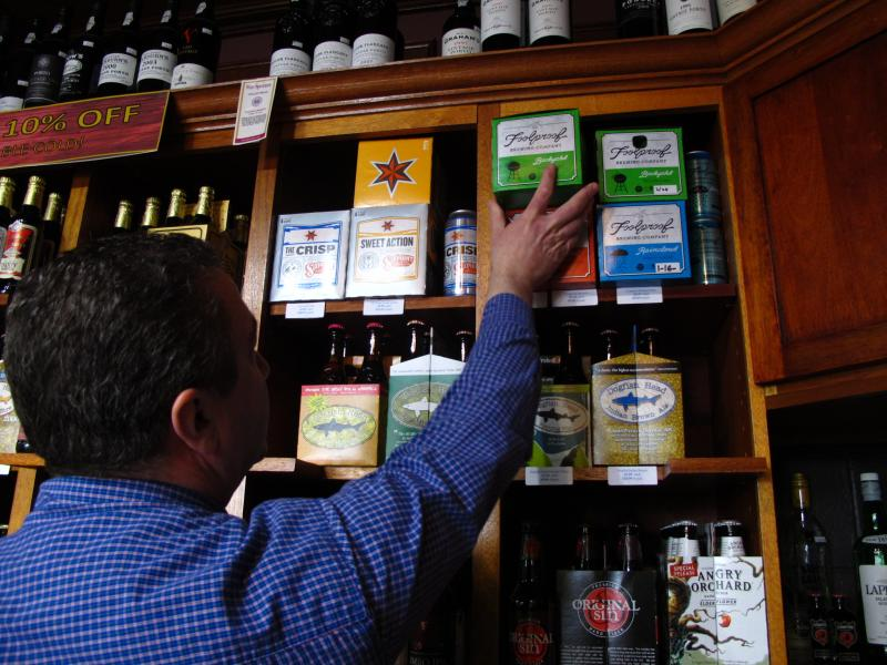 Saccoccia would like the three-tier liquor distribution in Rhode Island to remain as it is. He said locally crafted beers and wine already have a home in local liquor stores.