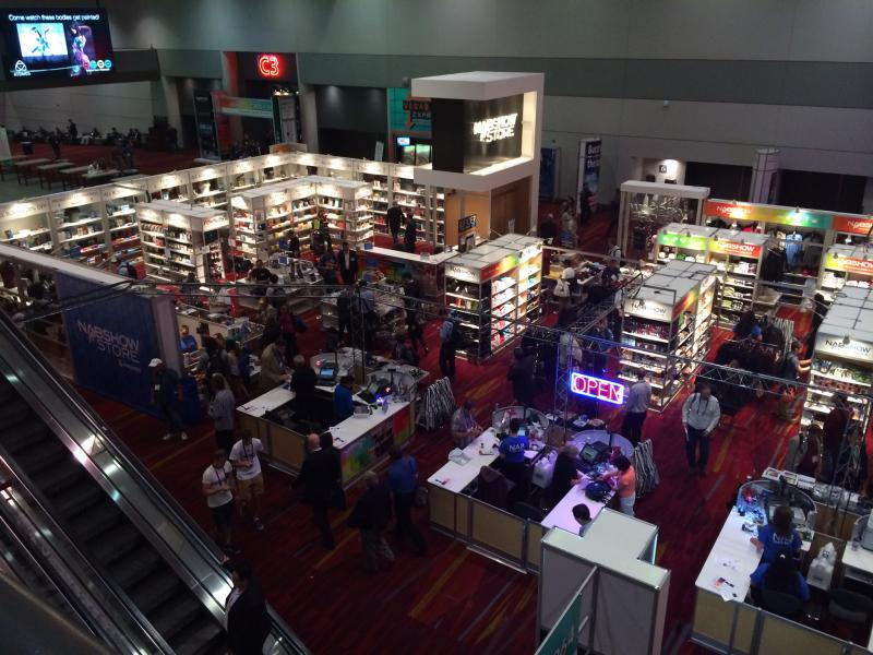 "This was one of three ""NAB Bookstores"" scattered around the four Halls of the LVCC."