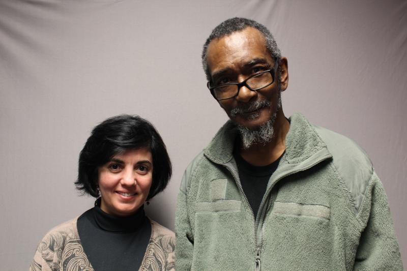 Harmon Chambers was interviewed by his case manager, Alice Knight.