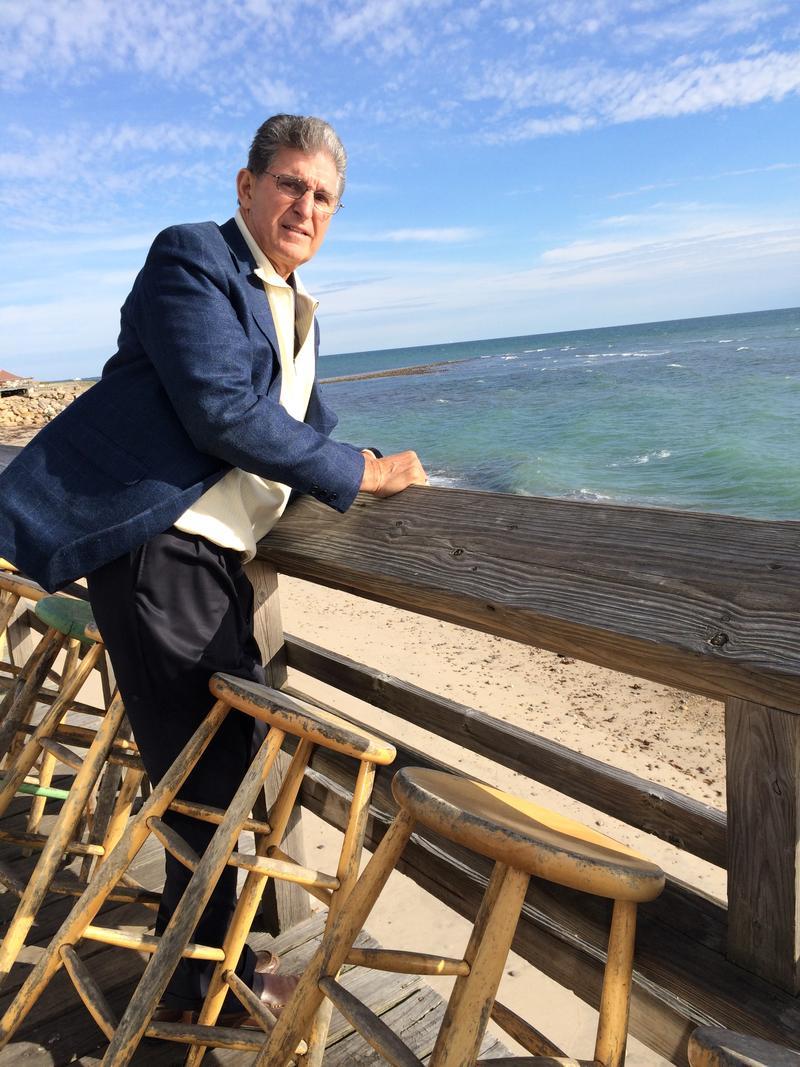 Sen. Joe Manchin (D-WV) also visited the Ocean Mist beach bar just a few miles away from Roy Carpenter's Beach.