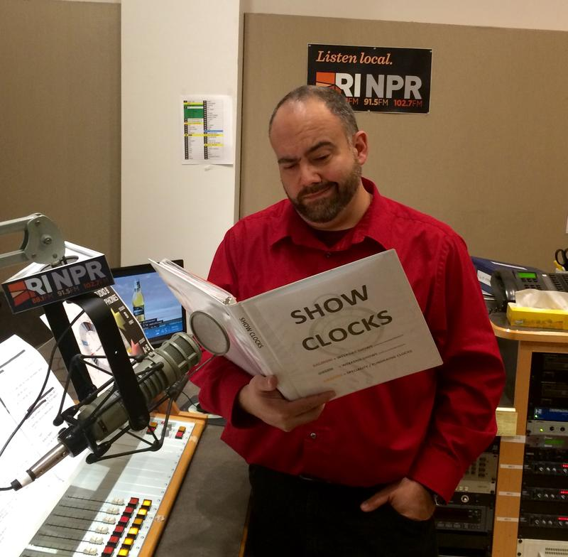 Aaron Read puzzles over the new NPR clocks
