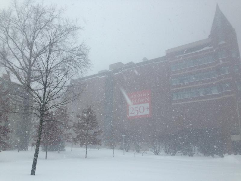 Blizzard blows across Brown campus Tuesday morning