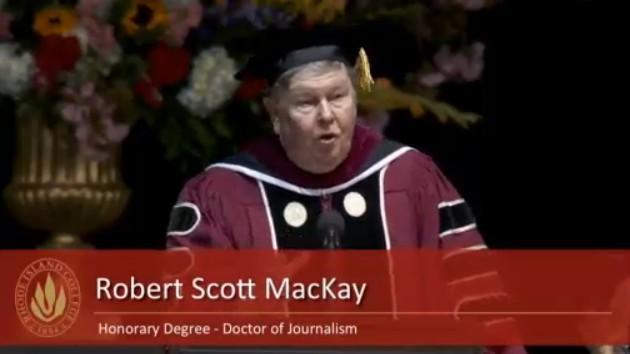 Scott Mackay RIC commencement 2015