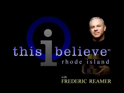 This I Believe: Rhode Island