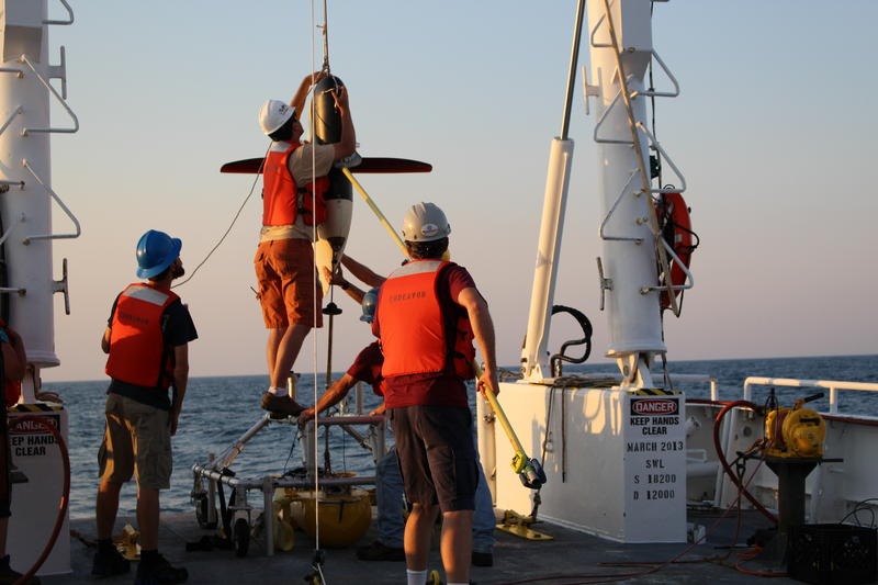 Engineers at the University of Rhode Island's Graduate School of Oceanography have developed a new tool called a wire flyer to gather data at greater resolutions in deep water than existing tools.
