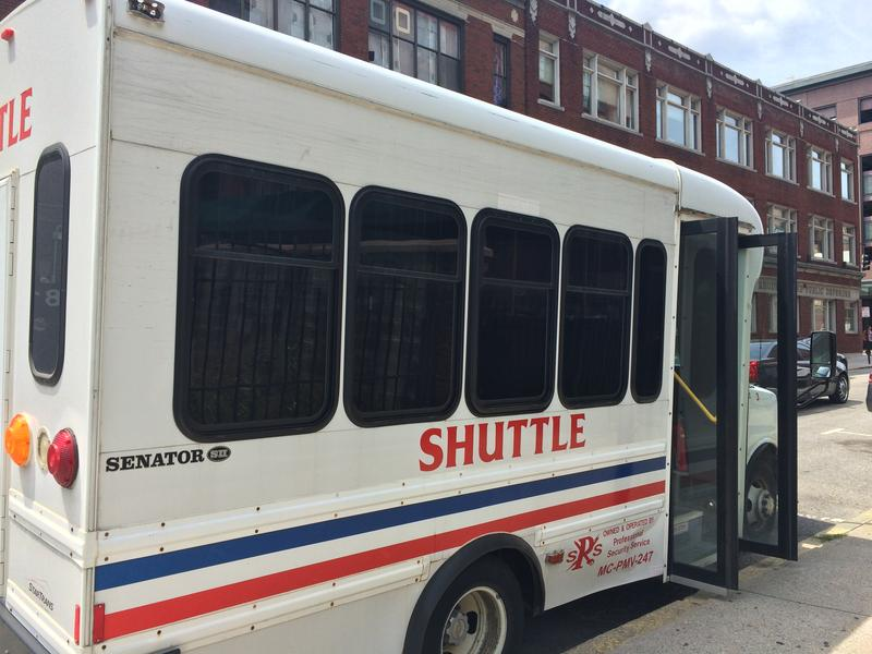 Dalton and most DCYF employees have to take a shuttle to their office on Friendship St. from a parking lot 15 minutes away. For social workers who have to go back and forth to appointments in the field, it's a nuisance.