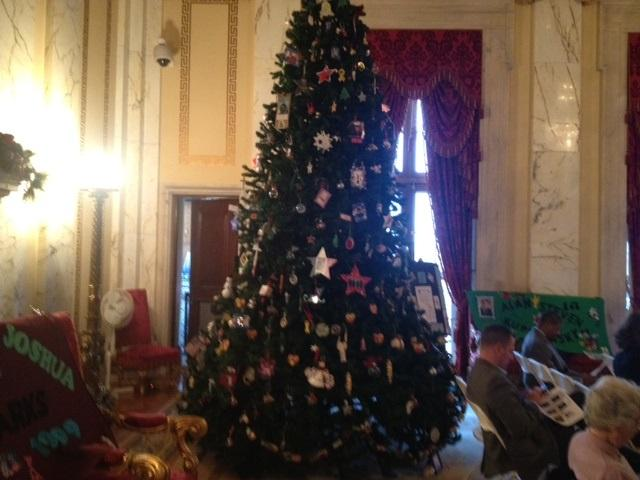 This Year It's A Christmas Tree At The RI Statehouse Rhode  - Christmas Trees Ri