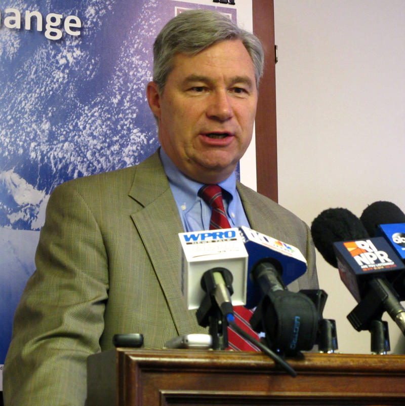 Sen. Sheldon Whitehouse applauds President Obama's decision to reject the Keystone XL oil pipeline proposal.