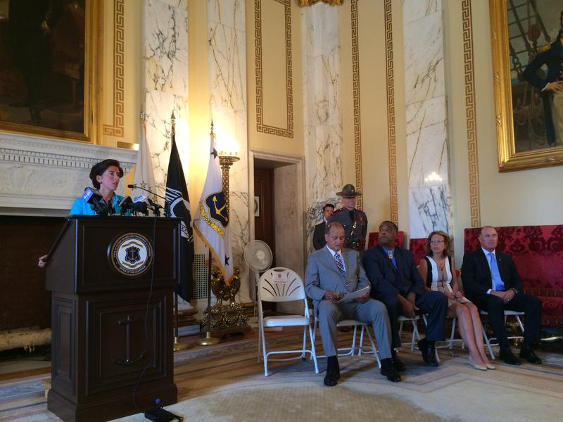Governor Gina Raimondo set up the Drug Overdose and Prevention Task Force earlier this year.