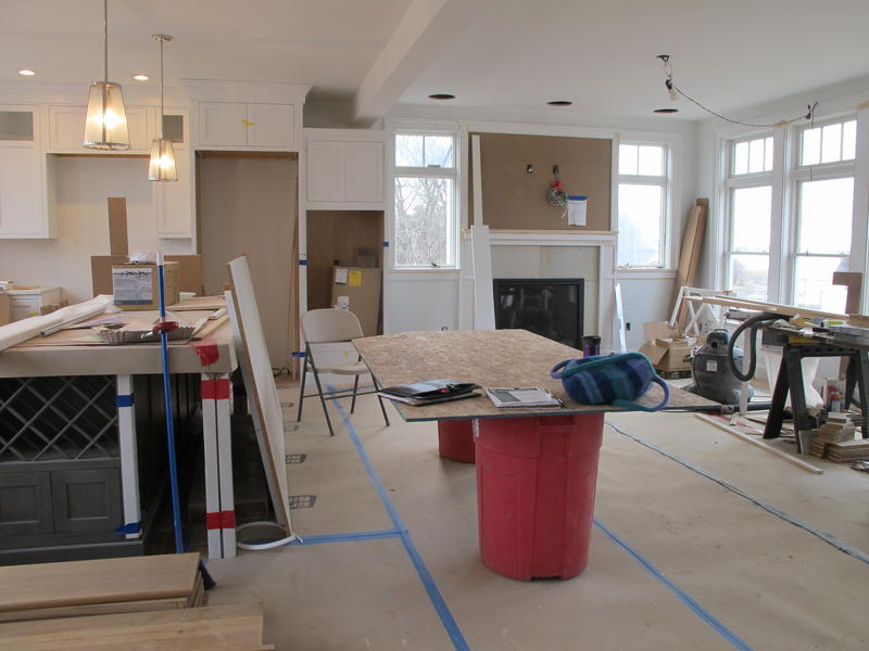 The first disaster-resistant home in New England seeking to be certified through a program known as FORTIFIED is nearly complete. The home will be certified at the gold level, the highest standard.