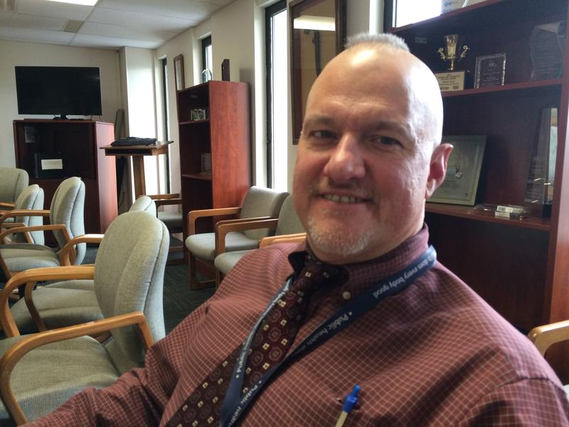 Mike Simoli manages professional licensing for the Rhode Island Dept. of Health