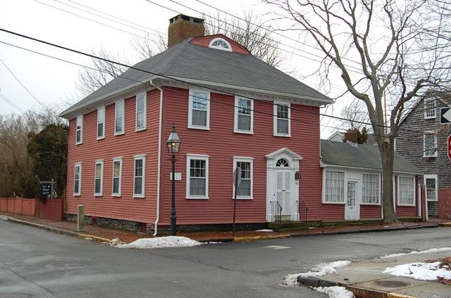 Nearly 1,000 of Newport's historic properties, such as the Christopher Townsend colonial building in the historic Point neighborhood, are in the floodplain according to a recent report from the city.