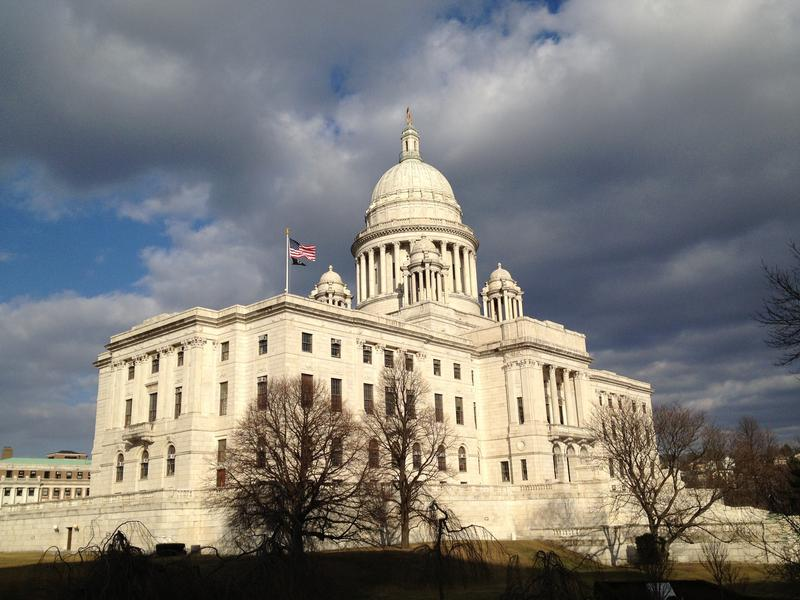 The Rhode Island Statehouse