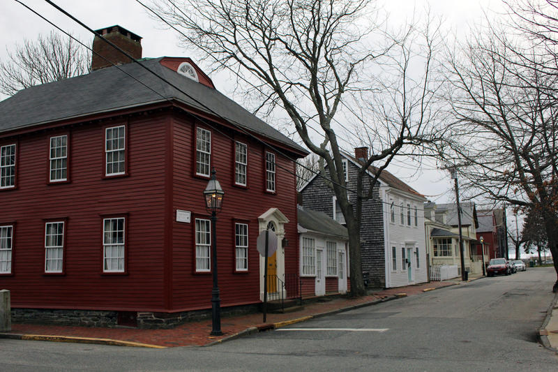 The Christopher Townsend House at the corner of Bridge and Third streets in Newport was built in 1728. It's one of the Newport Restoration Foundation's most recent acquisitions. The 18th century house belonged to a renowned family of cabinetmakers.